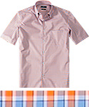 HUGO BOSS Hemd Edkes orange 50265380/824