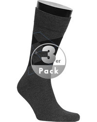Burlington Socken Argyle Denim