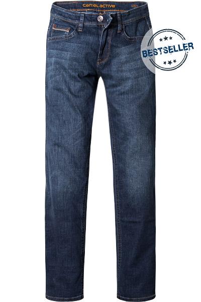 jeans houston straight fit baumwoll stretch blau von. Black Bedroom Furniture Sets. Home Design Ideas