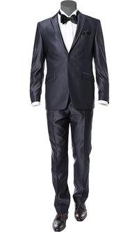 Wilvorst Anzug dunkelblau