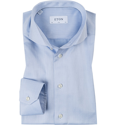 ETON Slim Fit hellblau 3000/73511/21