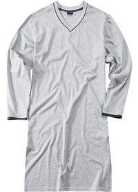 Seidensticker Nachthemd grau meliert
