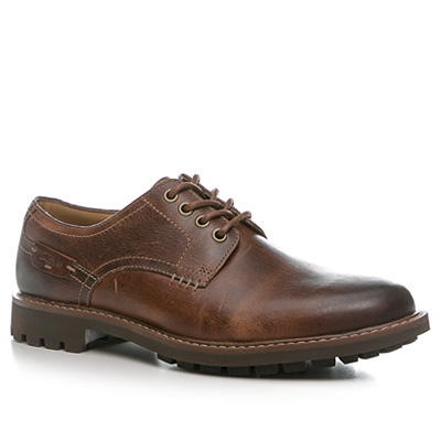 Clarks Montacute Hall dark tan 20351085G