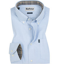 Barbour Hemd Oxford sky blue