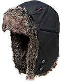 Barbour Wax Grasmere Trapper Hat MHA0290NY11