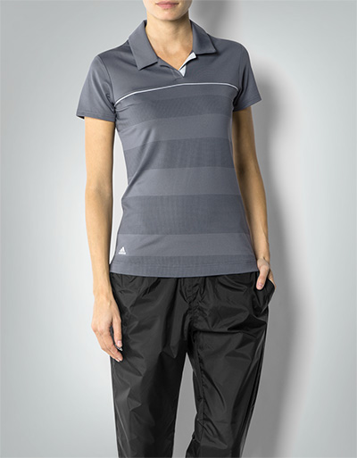 adidas golf damen climalite polo shirt aus funktions. Black Bedroom Furniture Sets. Home Design Ideas
