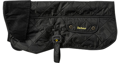 Barbour Polar Dog Coat UAC0085BK91
