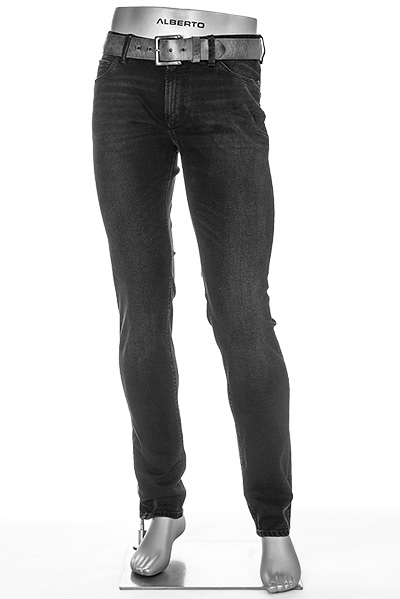 Alberto Regular Slim Fit Black Warp 48371690/995