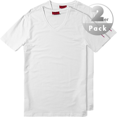 HUGO V-Shirt 2er Pack 50190772/100
