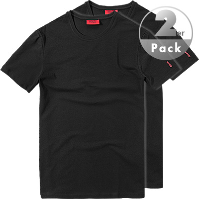 HUGO RH-Shirt 2er Pack 50190773/001