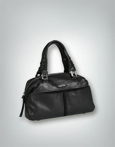 calvin klein jeans damen handtasche bowling bag im glatt. Black Bedroom Furniture Sets. Home Design Ideas