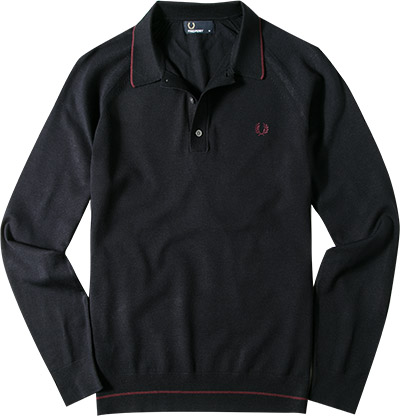 pullover mikrofaser navy von fred perry bei. Black Bedroom Furniture Sets. Home Design Ideas