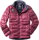 N.Z.A. Jacke 14GN850/cherry red