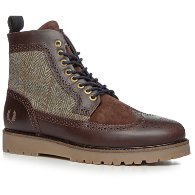 Fred Perry Northgate Boot har Tweed B5283/325