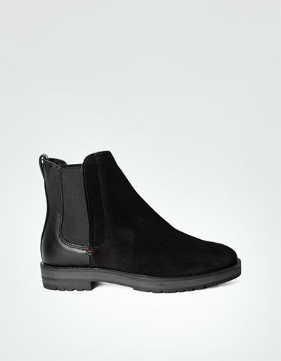 tommy hilfiger damen west chelsea boots im velours. Black Bedroom Furniture Sets. Home Design Ideas