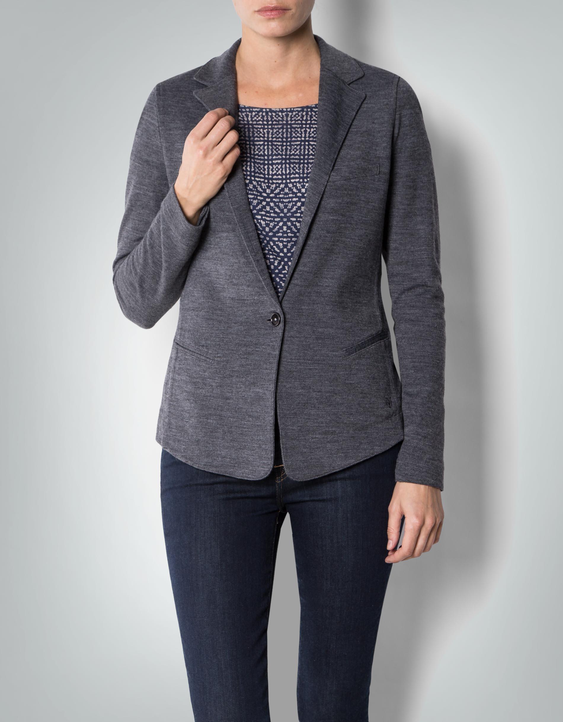 marc o 39 polo damen jersey blazer mit woll anteil empfohlen von deinen schwestern. Black Bedroom Furniture Sets. Home Design Ideas