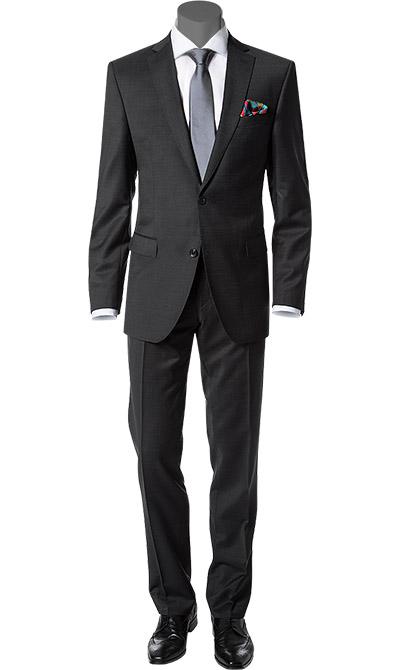 carl gross anzug in grau. Black Bedroom Furniture Sets. Home Design Ideas