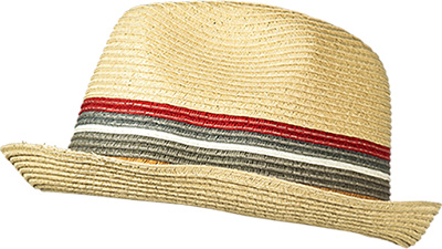 Barbour Hut Tain Stripe Trilby natural MHA0318BE11