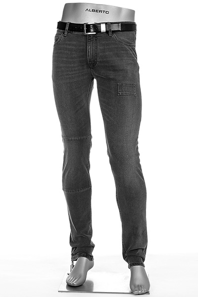 Alberto Slim Fit Black Slim-RVB 51571690/984