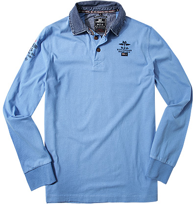 N.Z.A. Rugby-Shirt 14MN201/spring blue