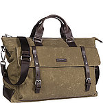 JOOP! Waxed Canvas Ares Weekender