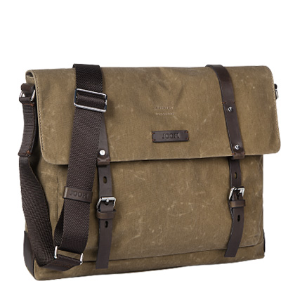 JOOP! Waxed Canvas Kimon Flap Bag 4140001898/103