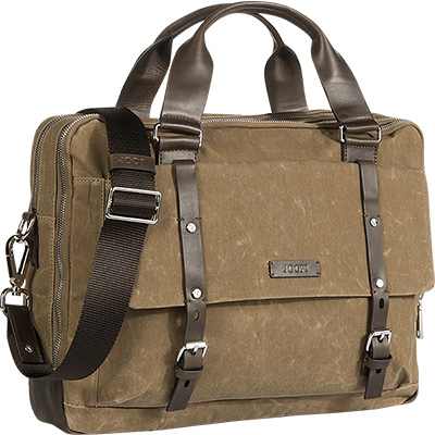 JOOP! Waxed Canvas Brief Bag 4140001900/103