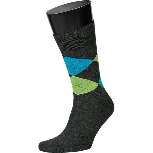 Artikel klicken und genauer betrachten! - LLOYD - Socken Form: Socken mit weichem Komfortbund Druckfreie, handgekettelte Spitze Formbeständig Material: 80% Baumwolle, 17% Polyamid, 3% Elasthan Farbe: Anthrazit gemustert | im Online Shop kaufen