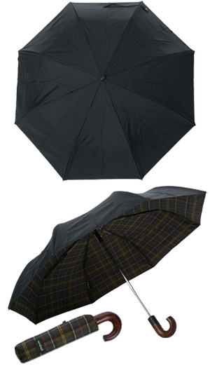 Barbour Telescopic Umbrella MAC0056NY15