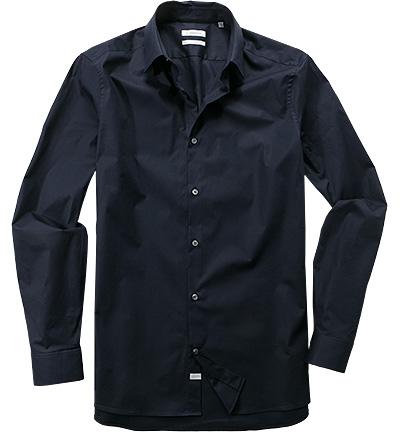 hemd fitted baumwolle nachtblau von calvin klein bei. Black Bedroom Furniture Sets. Home Design Ideas