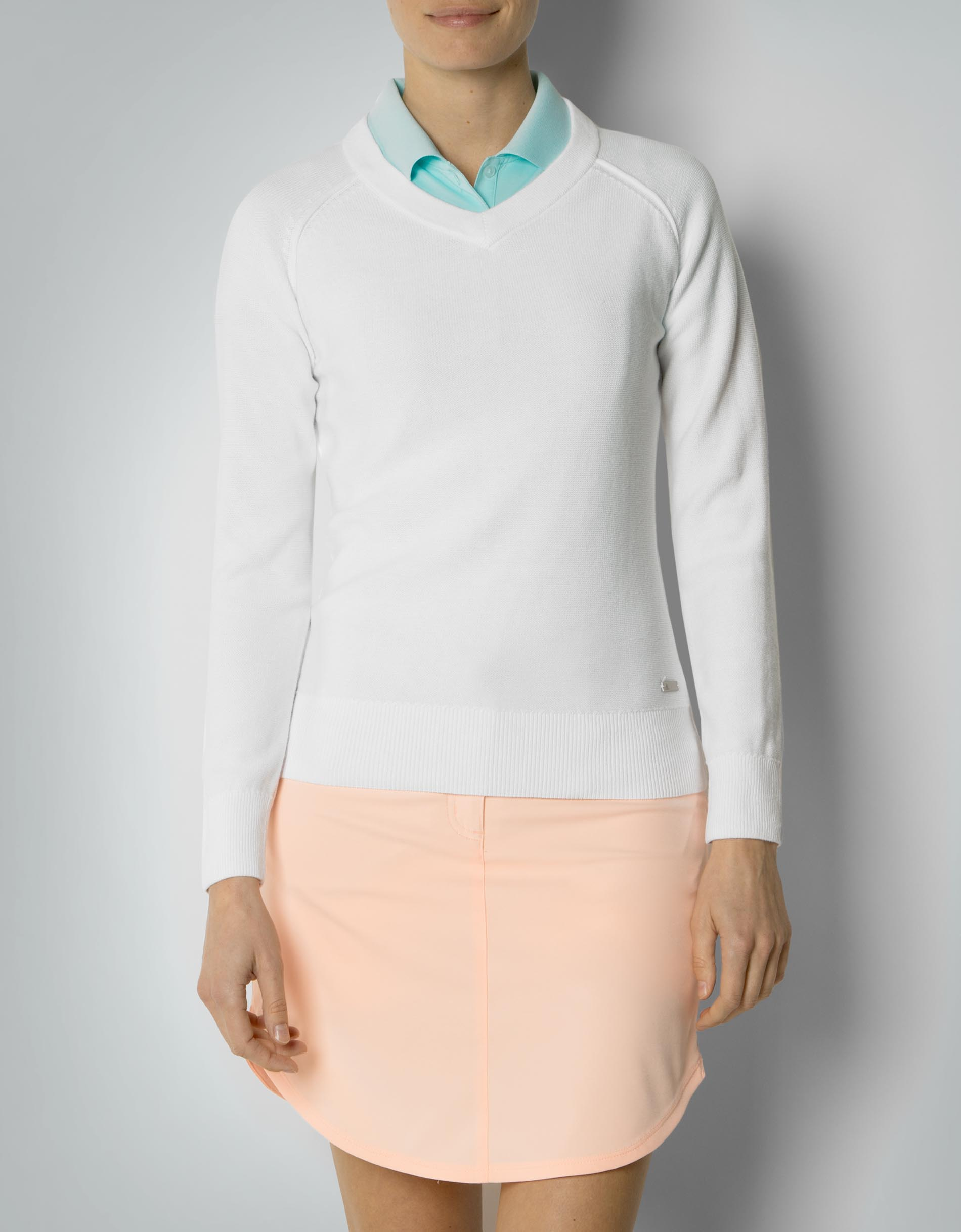 clearance sale in stock first rate adidas Golf Damen Essentials Pullover im cleanen Look ...