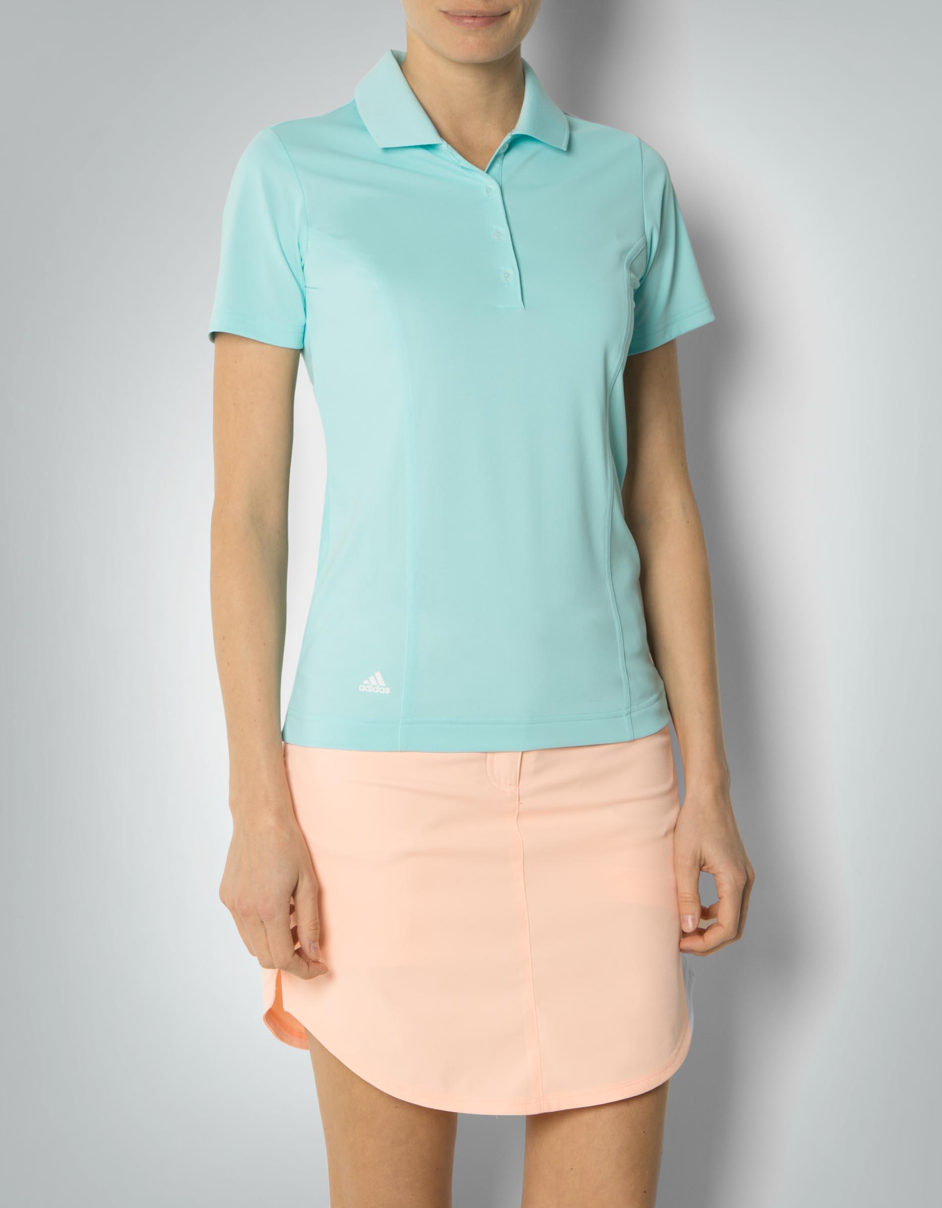 adidas golf damen essentials polo shirt im schmalen schnitt empfohlen von deinen schwestern. Black Bedroom Furniture Sets. Home Design Ideas