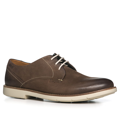 Clarks Raspin Plan walnut 26107231G