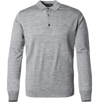 John Smedley Pullover Cotswold/silver