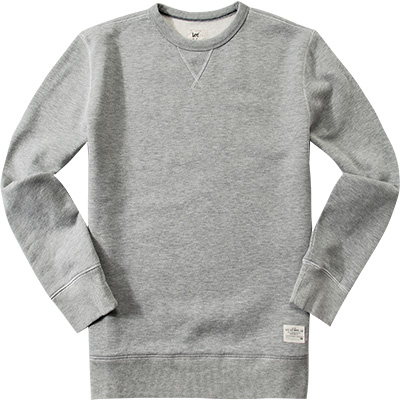 Lee Crew SWS grey mele L80L/UB37