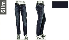 Alberto Slim Fit Dark Indigo Slim 42371777/894
