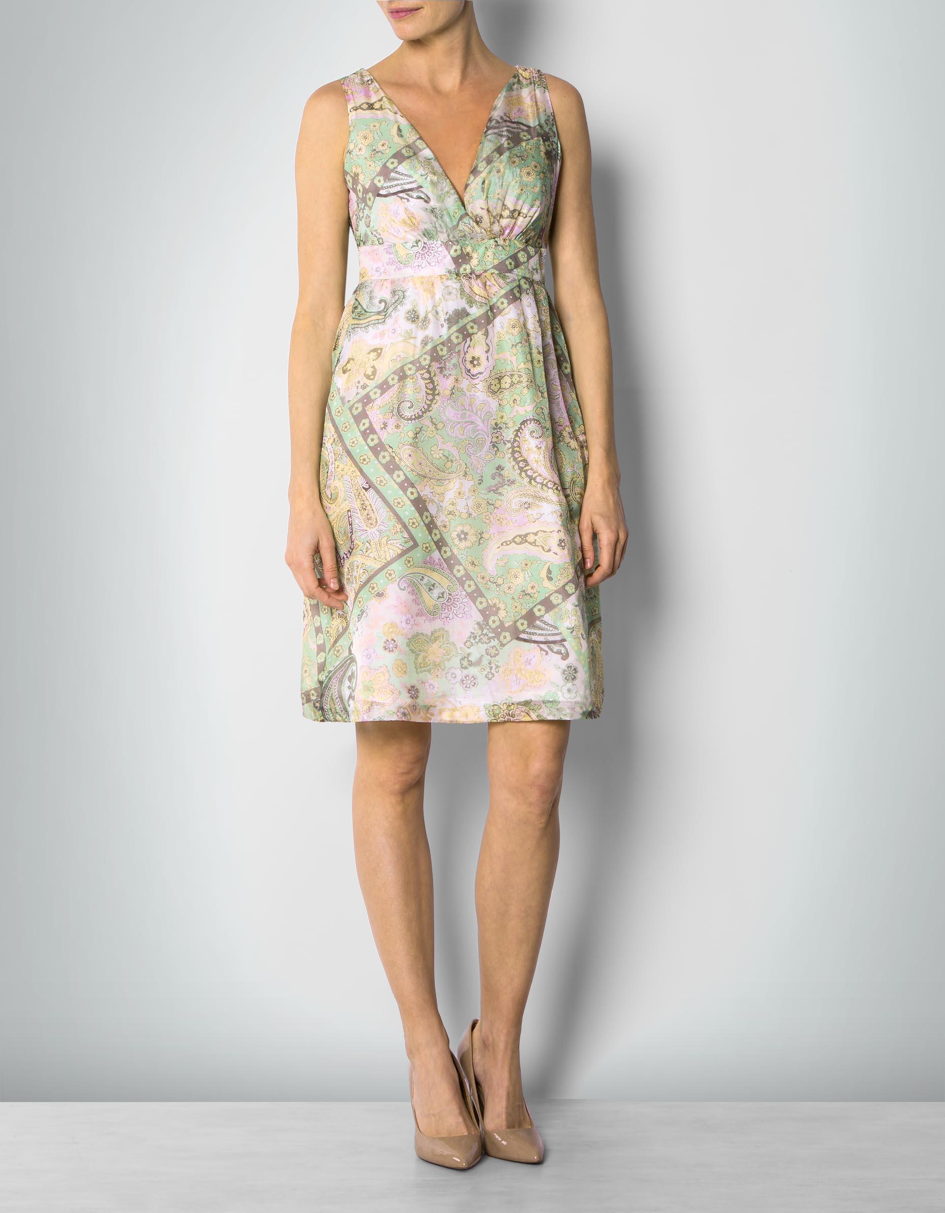 Daniel Hechter Damen Kleid Seiden mit Paisley-Print empfohlen von Deinen  Schwestern 6cac7f1bd4