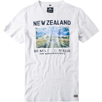 N.Z.A. T-Shirt 15DN708/white