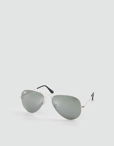 Ray Ban Damen Brille silber-grau 0RB3025/W3277