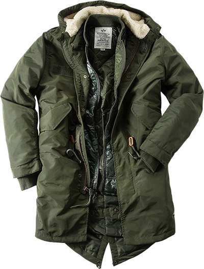 ALPHA INDUSTRIES Jacke Fishtail TT158144/257