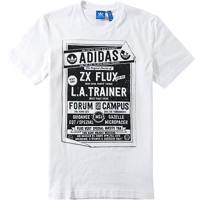 adidas ORIGINALS T-Shirt white AB9587