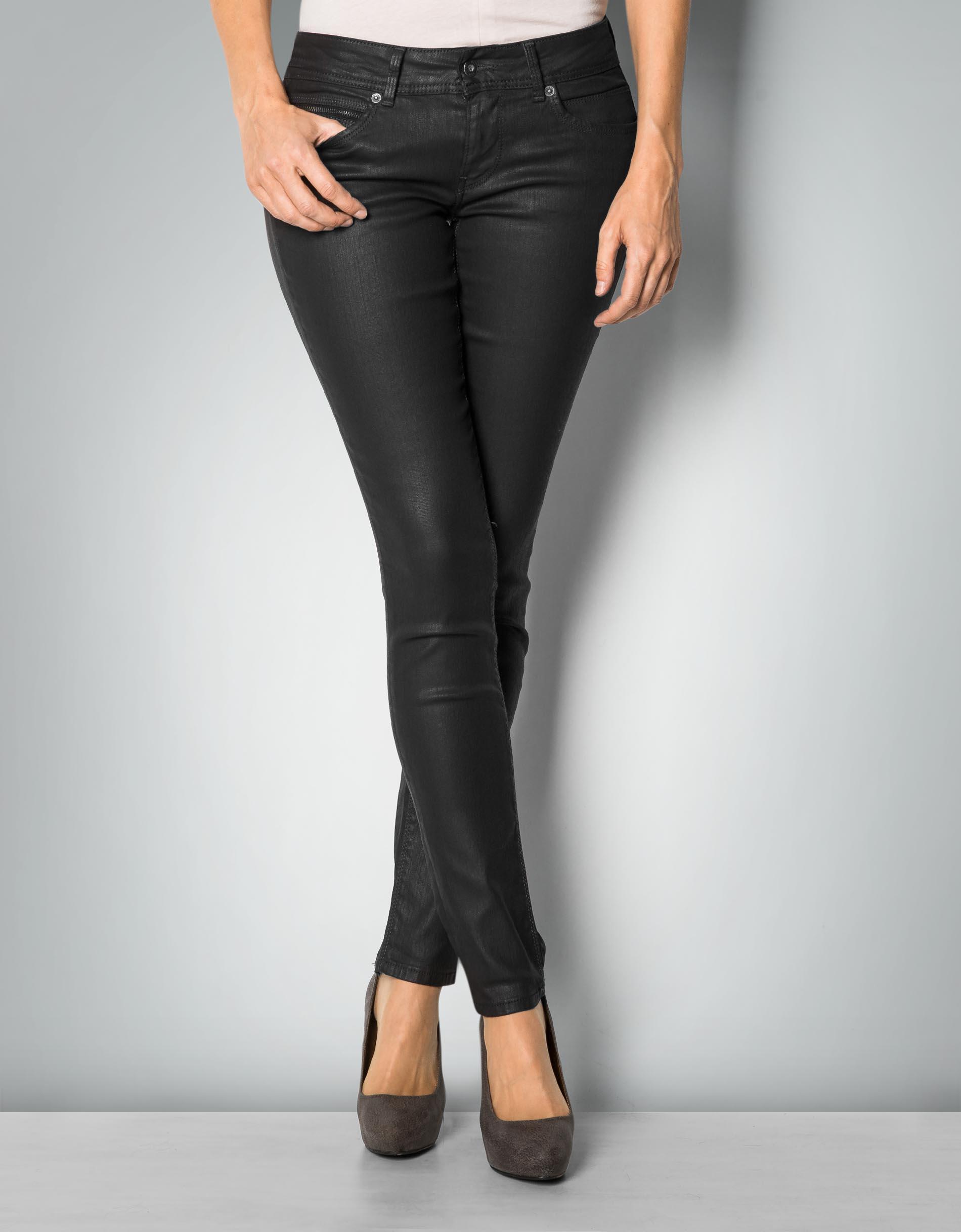 online store 77f5f a1c72 Pepe Jeans Damen Jeans New Brooke - Slim Fit - Schwarz - Black
