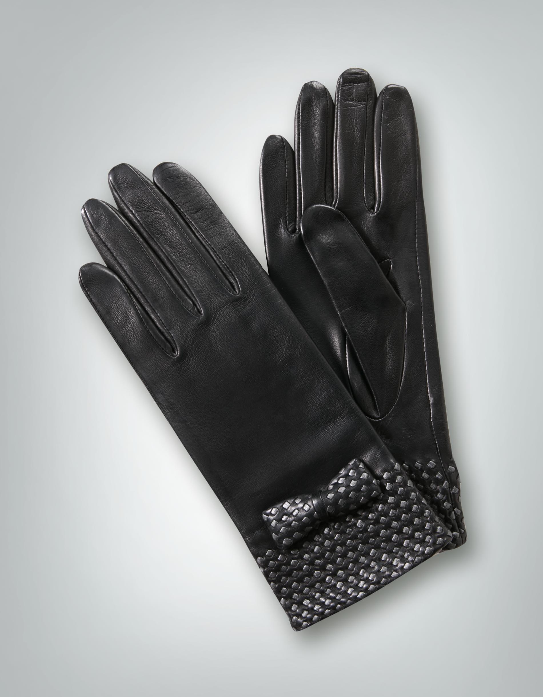roeckl damen handschuhe mit schleifenverzierung empfohlen. Black Bedroom Furniture Sets. Home Design Ideas
