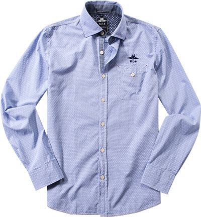 N.Z.A. Hemd 15GN524/light blue