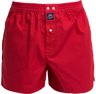 MC ALSON Boxer-Shorts 0110/rot