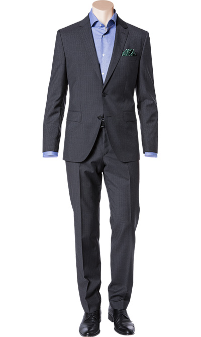hugo boss anzug johnstons1 lenon 50300415 021 herren mode. Black Bedroom Furniture Sets. Home Design Ideas