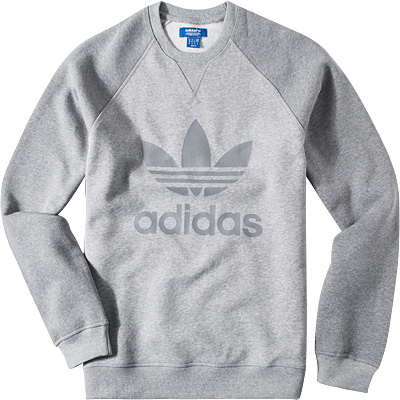 adidas ORIGINALS Sweatshirt grey AB7597
