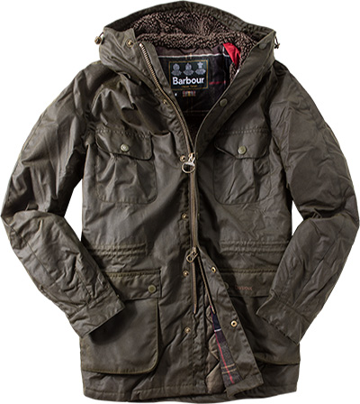 Barbour Jacke Brindle Wax MWX0900OL52