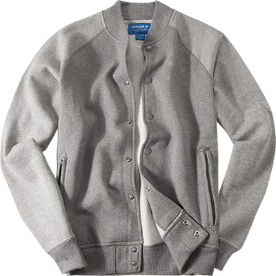 adidas ORIGINALS Fleecejacke grey AB7666