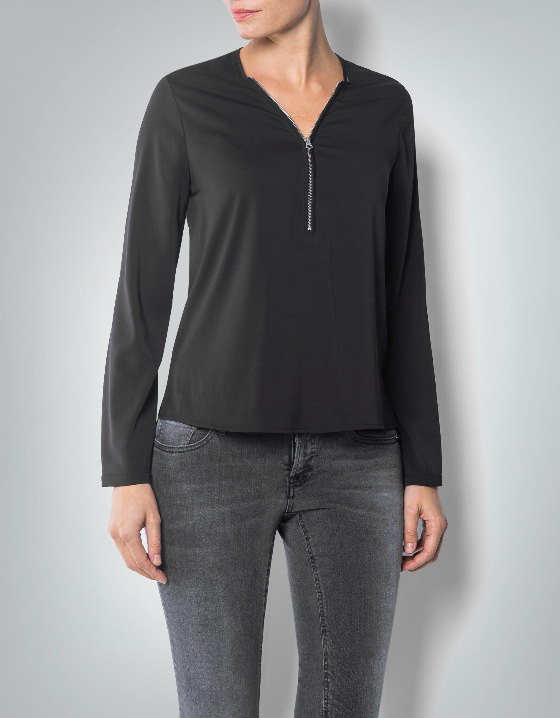 replay damen bluse mit rei verschluss am ausschnitt empfohlen von deinen schwestern. Black Bedroom Furniture Sets. Home Design Ideas